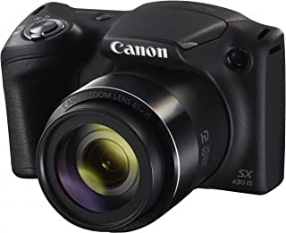 Canon PowerShot SX430IS Digital Camera(SX430IS) 3 Inch display,Black (Australian warranty)