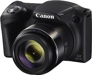 Canon PowerShot SX430IS Digital Camera(SX430IS) 3 Inch display,Black (Australian warranty)