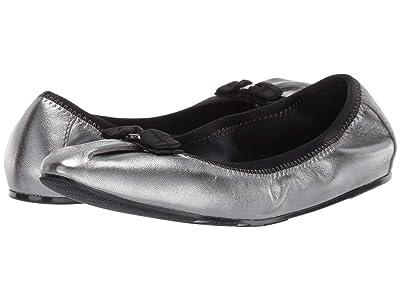 Salvatore Ferragamo Joy Ballet Flat (Metallic Silver) Women