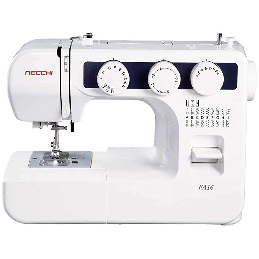 Necchi FA16 Sewing Machine, White