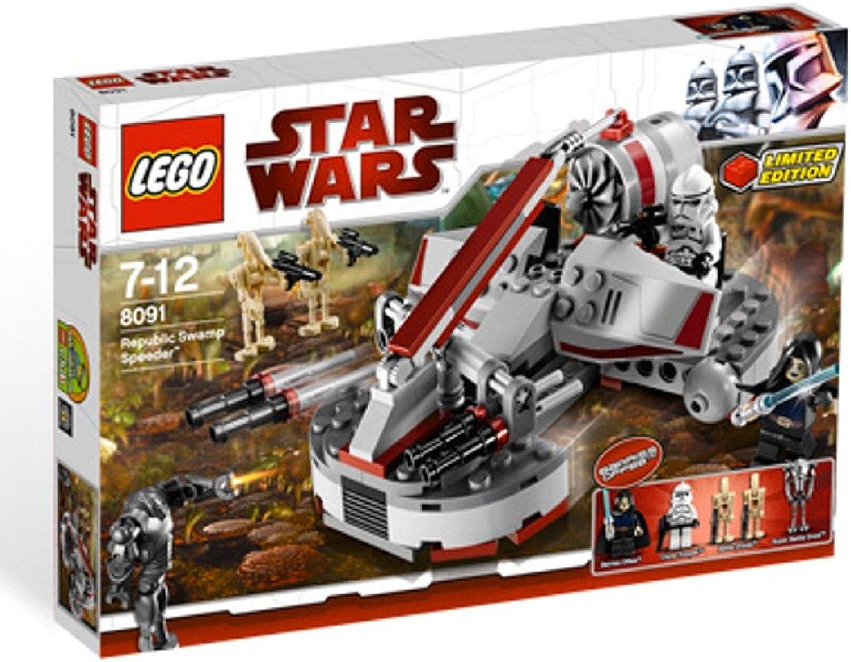 Lego Star Wars 8091 Republic Swamp Speeder