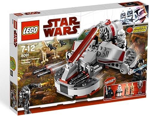 alta calidad LEGO Star Wars - Republic Swamp Speeder Speeder Speeder  moda clasica