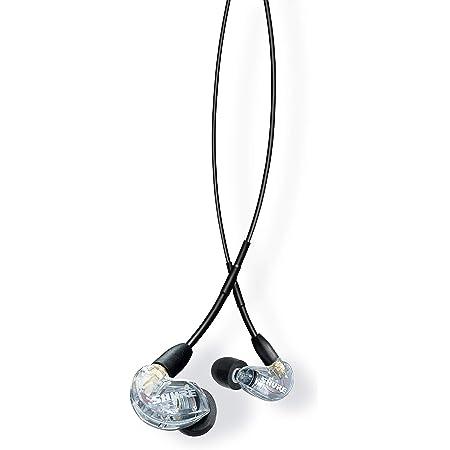 SHURE シュア AONIC 215 高遮音性イヤホン(有線タイプ) / SE215DYCL+UNI-A クリアー : / / マイク・リモコン付 【国内正規品/メーカー保証2年】
