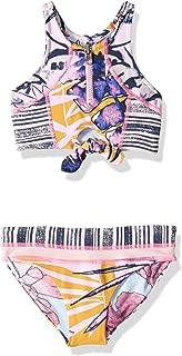 Maaji Girls' High Neck with Keyhole Bikini Swimsuit Set