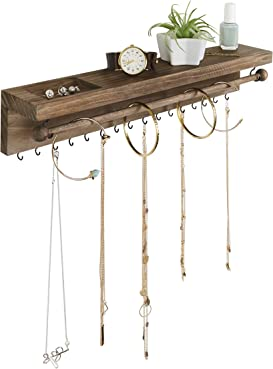 Explore wall hangers for jewelry