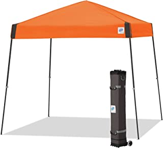 E-Z UP Vista Instant Shelter Canopy, 10 by 10', Steel Orange