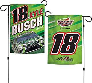 WinCraft NASCAR Garden Flag 2 - Sided Driver's Number & Graphics 12.5' x 18