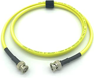1.5ft AV-Cables 3G/6G HD SDI BNC Cable Belden 1505A RG59 - Yellow (1.5ft)