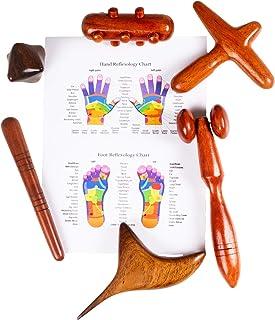 Bâton en bois pour massage des pieds et des mains (6 Tool PRO)