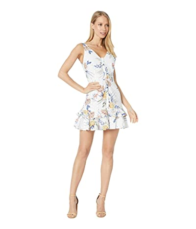 BB Dakota Turn Up The Heat Dress (Optic White) Women