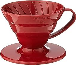 Hario VD-01R V60 Coffee Dripper 01, Red