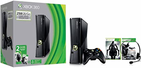 Microsoft Xbox 360 S 250GB Console Darksiders 2/Batman Bundle