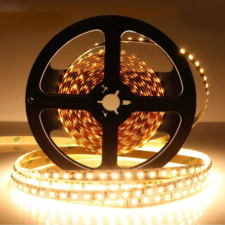LightingWill LED Cheap SALE Start Strip Lights CRI90 SMD3528 25% OFF 600LEDs Ul 5M 16.4Ft
