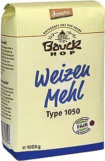Bauckhof Weizenmehl T1050 Demeter, 8er Pack 8 x 1 kg