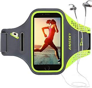 comprar comparacion Guzack Brazalete Deportivo Running para Moviles Phone, Prueba de Sudor Ejecutando Brazalete con Clave Ranura para Correr G...