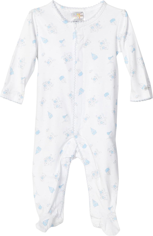 Absorba Newborn Baby Boys' Printed Pima Cotton Footie