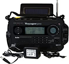 Kaito Voyager Pro KA600 Digital Solar Dynamo,Wind Up,Dynamo Cranking AM/FM/LW/SW & NOAA Weather Emergency Radio with Flash...