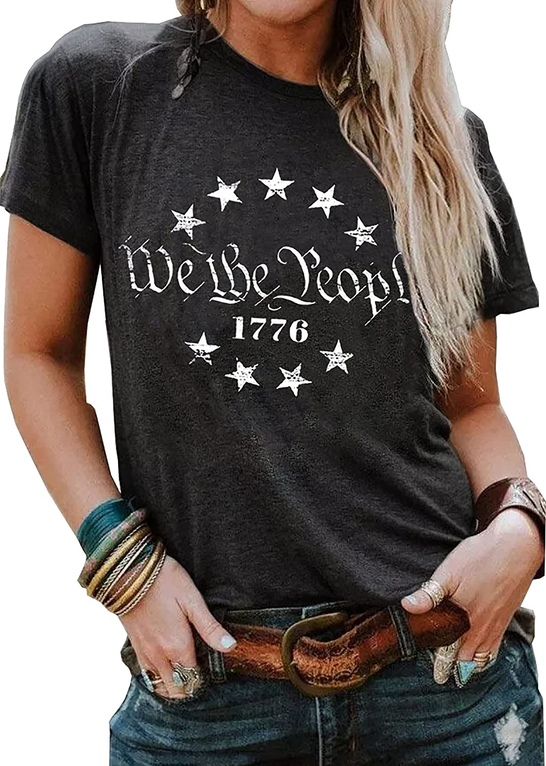 LLHXRUI We Special Campaign The People 1776 Tank Clearance SALE! Limited time! Top July Women for of Patrio 4th