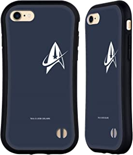 Official Star Trek Discovery Delta Small Badges Hybrid Case Compatible for iPhone 7 / iPhone 8