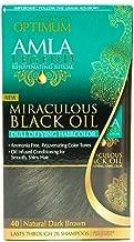 Optimum Care Amla Legend Miraculous Oil Dull Defying Hair Color, 40 Natural Dark Brown 1 ea (Pack of 2)