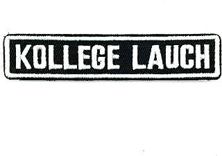 polizeimemesshop Namensschilder 2.0 Kollege Lauch Textilpatch mit Klett