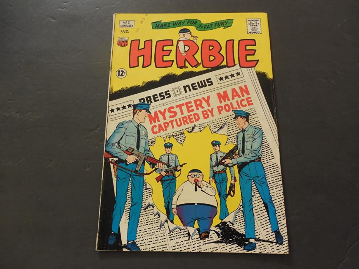 Herbie The Fat Fury #2 Jun-Jul 1964 Silver Age American Comics Group j45797718117067