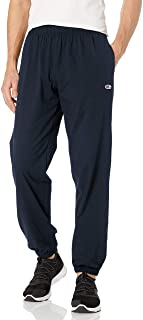 Champion Men's Closed Bottom Light Weight Jersey Sweatpant