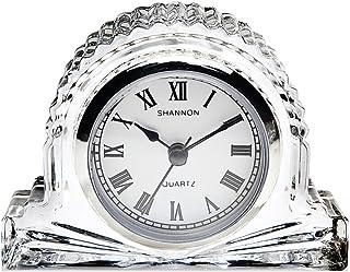Godinger Mantle Clock, Crystal, Clear, One Size