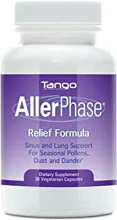 AllerPhase All-Natural Herbal Support Formula for Seasonal Respiratory Discomfort (30 Caps)