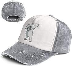 Vintage Dab Polar Bear Dabber Dance Cotton Adjustable Washed Dad Hat Baseball Cap