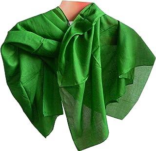 Halstücher 5er Pack schwarz 50 x 50 cm PORTOFREI Baumwolle Einfarbig Uni Tuch