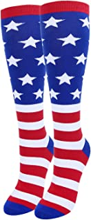 Best american flag knee high socks Reviews