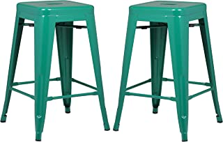 Remarkable Amazon Com Green Barstools Home Bar Furniture Home Customarchery Wood Chair Design Ideas Customarcherynet