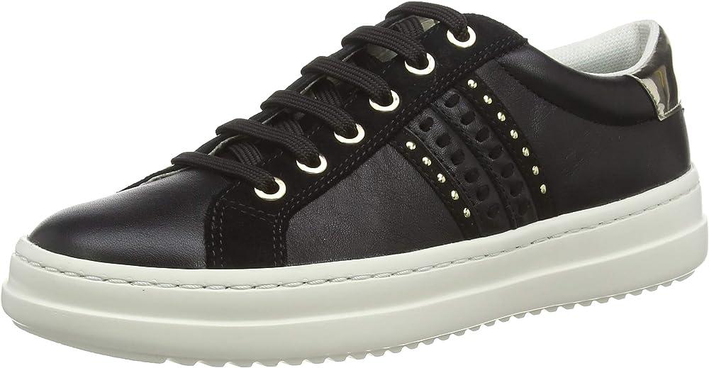 Geox, d pontoise d, scarpe da ginnastica basse, donna sneaker D02FED085BN