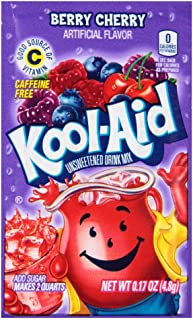 Kool-Aid Flavored Drink Mix, Berry Cherry (0.17 Ounce Packets, Pack of 192)