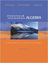 Best elementary and intermediate algebra 6th edition Reviews