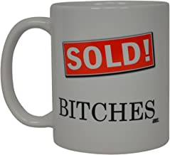 Realtor Coffee Mug Sold Best Funny Real estate Agent Novelty Cup Gift Idea For Men Women Office Employee Boss Coworkers