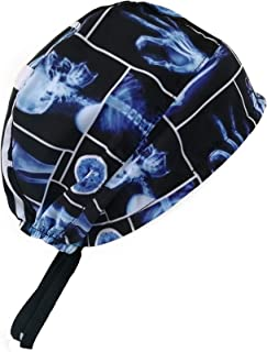 Scrub Hat Bouffant - Adjustable Surgical Scrub Cap Medical Doctor - X-Rays - One Size