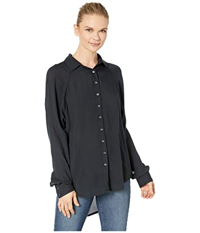 Prana Hele Mai Shirt (Black) Women