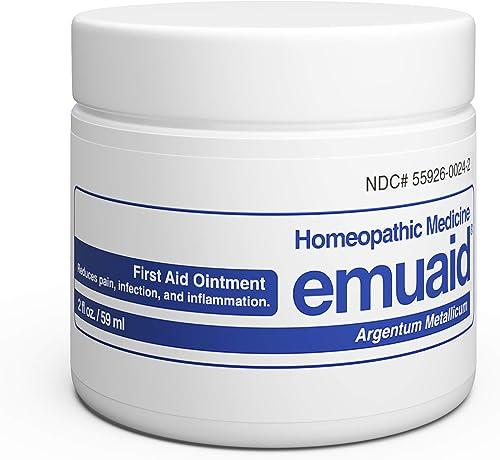 EMUAID Ointment - Eczema Cream. Regular Strength Treatment. Regular Strength for Athletes Foot, Psoriasis, Jock Itch,...