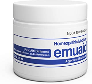Emuaid® Ointment 2 oz - Antifungal, Eczema Cream. Regular Strength Treatment. Regular Strength for Athletes Foot, Psoriasi...