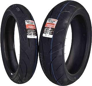 Full Bore Super Bike F2 Tire set (1 Front 120/70ZR17 & 1 Rear 180/55ZR17) tires pair 120/70-17 180/55-17