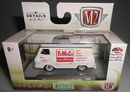 M2 Machines 1965 Ford Econoline Display Van Auto Trucks R46 1:64 Scale