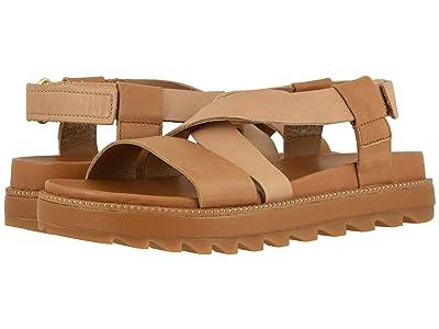 SOREL Roamingtm Crisscross Sandal (Camel Brown) Women