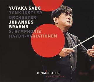 ブラームス:交響曲第2番、ハイドンの主題による変奏曲(CD)