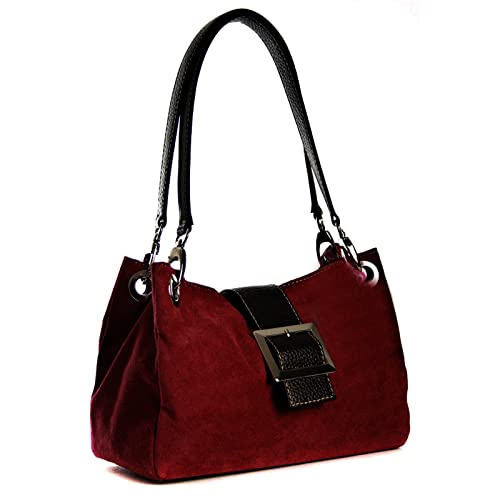 577ad3ece158 Dark Red Handbag: Amazon.co.uk