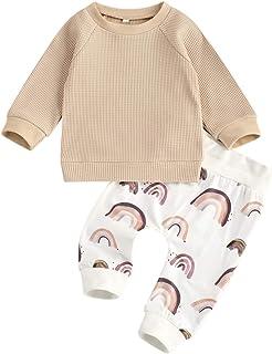 Geagodelia Baby Kleidung Jungen Sweatshirts Langarm Oberteile Hose Baby Neugeborenen Set Outfit Babykleidung Set