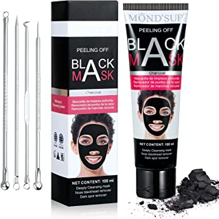 Charcoal Peel Off Mask, Blackhead Remover Mask, Charcoal Face Mask Peel Off Blackhead Mask, Black Charcoal Mask, Christmas Stocking Stuffers Gift for Women Mom Wife Sister
