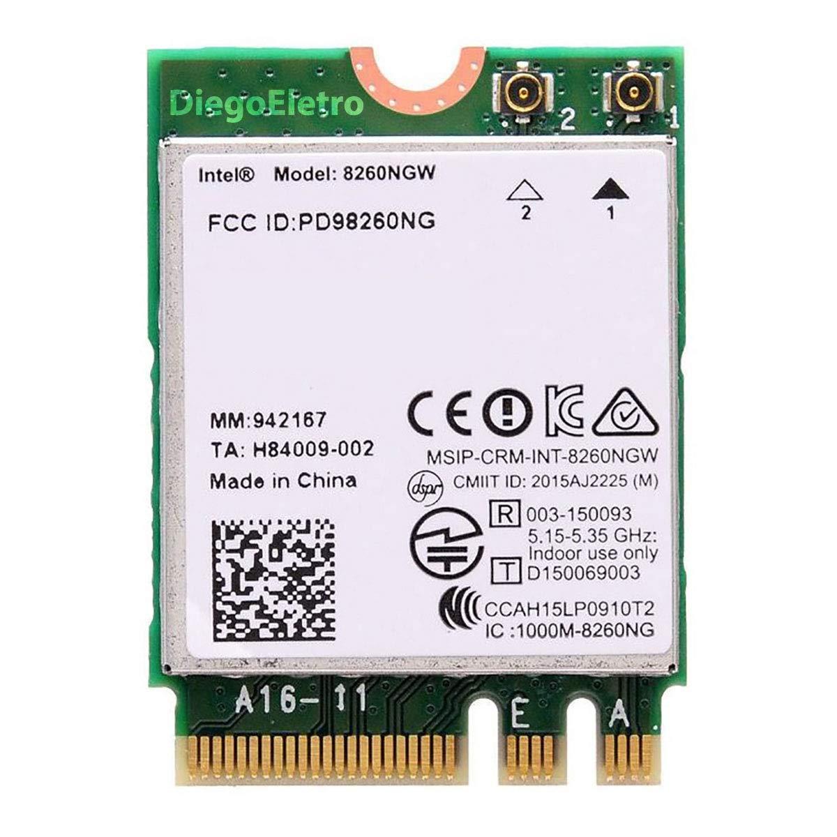 Intel 8260 IEEE 802 11ac Adapter