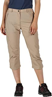 REGATTA Women's Chaska II' Quick Drying Water Repellent Active Lightweight Walking Capri Shorts